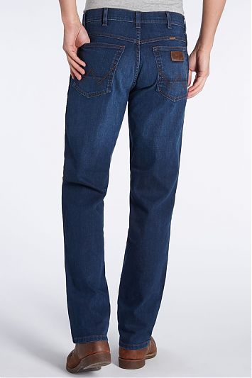 Джинсы Wrangler Texas Stretch Classic Blues W1215166E фото №3